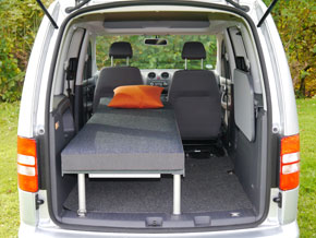 Campingausbau VW Caddy