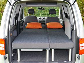 highcamper campingeinrichtung f r vw caddy. Black Bedroom Furniture Sets. Home Design Ideas